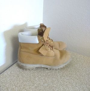 Timberland Tan Leather Boots